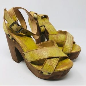 29d301fc3d Bed Stu Shoes | New Madeline Strappy Heels 8 | Poshmark